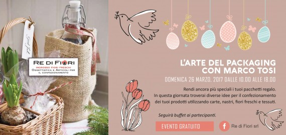L'arte del packaging con Marco Tosi